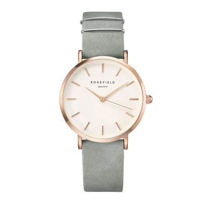 "Rosefield Damenuhr ""The West Village"" Mintgrau/Rosé - 33mm"