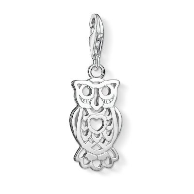 "Thomas Sabo Charm-Anhänger ""Eule"" aus 925 Sterlingsilber"