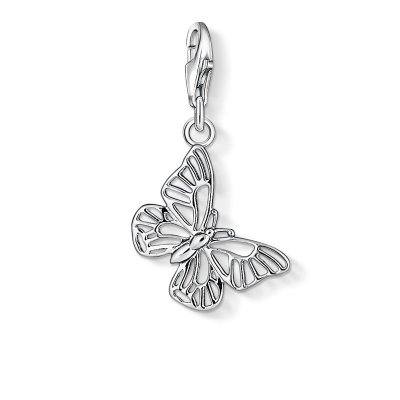 "Thomas Sabo Charm-Anhänger ""Schmetterling"" aus 925 Sterlingsilber"